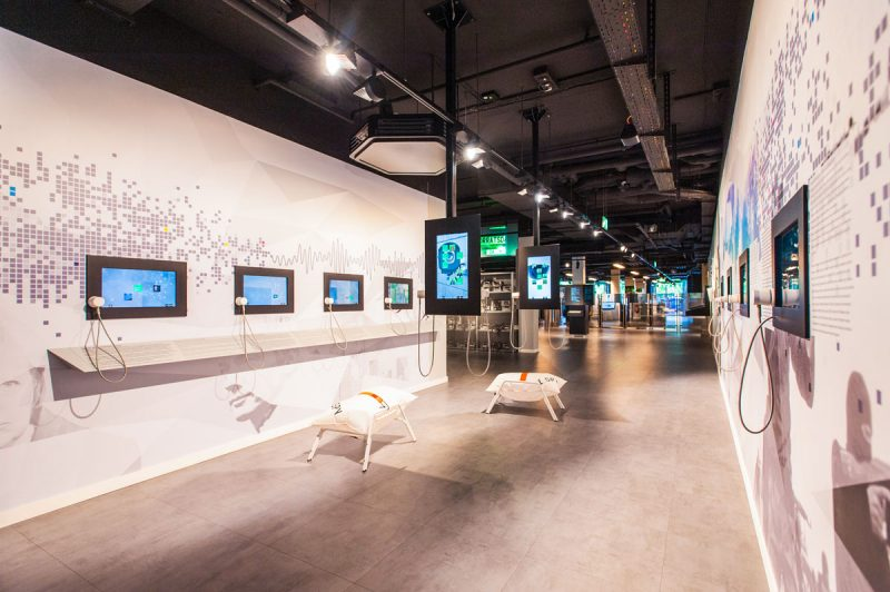 Gegenwartsbereich im Deutschen Spionagemuseum