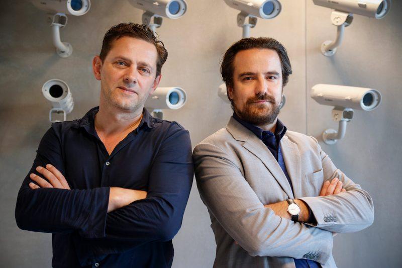 Franz-Michael Günther (Initiator und leitender Kurator) und Robert Rückel (Direktor)